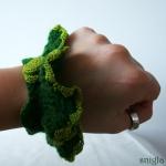 Crochet bracelet / Heklað armband